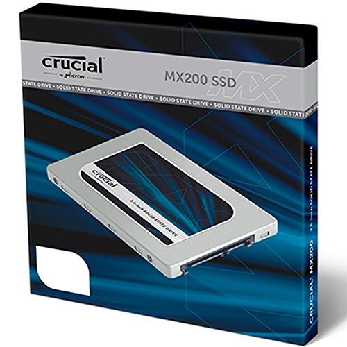 "Crucial MX200 500 GB SATA3 (6 Gbps) 2.5"" Internal SSD"