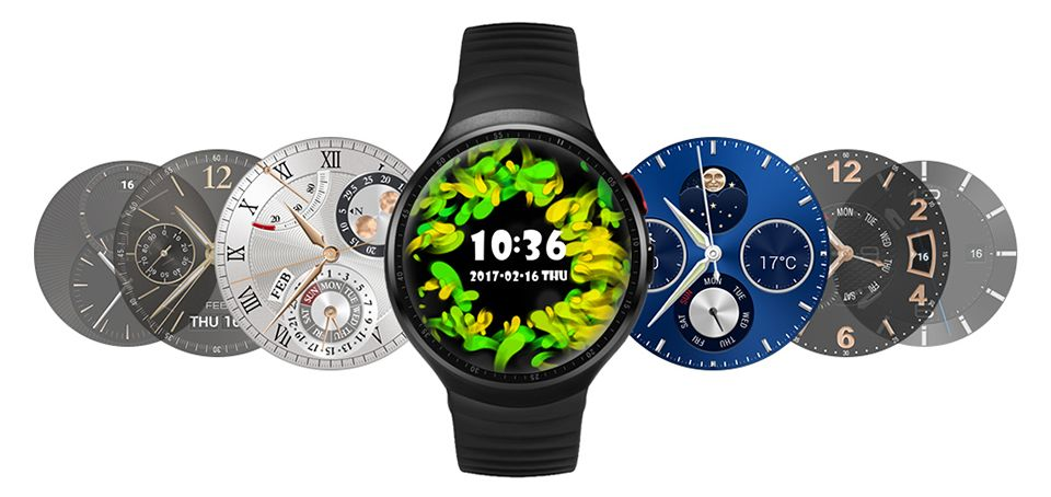 Lemfo Les1 Android Smart Bluetooth Watch with 2.0 MP HD Camera