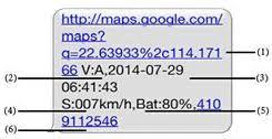 TKStar TK909 Pet GPS Tracker SMS reply format