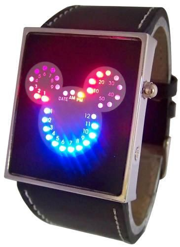 Mickey Mouse Led Unisex Watch 5d9db79fe0