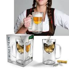 how to make fake beer in a glass